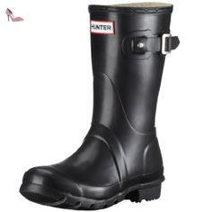 Hunters Original Short W23758, Bottes femme - Noir (Noir - V.9), 37 EU - Chaussures hunter (*Partner-Link)