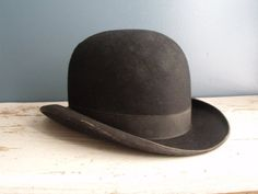 Stetson Hat Felted Derby Wool Bowler Vintage