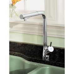 American Standard - Culinaire Pull Out Kitchen Faucet - chrome - 4147.100.002 - Home Depot Canada