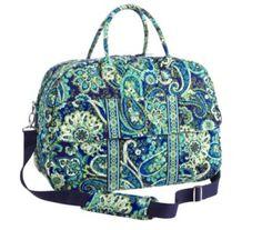 Vera Bradley bag for wedding-- Rhythm & Blues
