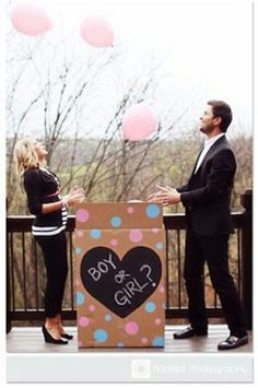 Looking for baby gender reveal ideas to inspire your own announcement? From unique to funny, we've rounded-up the best gender reveal ideas out there. Gender Reveal Box, Gender Reveal Balloons, Gender Party, Baby Gender Reveal Party, Baby Shower Games, Baby Shower Parties, Baby Showers, Shower Party, Gender Reveal