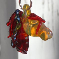 Flaming Horse by untamedrose, $35.00