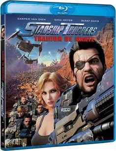 Starship Troopers - Traitor of Mars Alemania Blu-ray Starship Troopers, Blu Ray Movies, Hd Movies, Movie Plot, Movie Tv, Casper Van Dien, Dina Meyer, Hollywood Action Movies, Mars