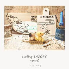 wood.y.r#ウッドバーニング #焼き絵 #焦がし絵 #surfing #スヌーピー #welcomeboard #セリアdiy #カッティングボード #名前 #プレート #西海岸 - ❣ ցօօժ ʍօɾղíղց❢٩(๑º╰╯º๑)۶ - surfingSNOOPYのプレート 並べてみました♡ - せっかくの日曜日 こちらはあいにくのどんよりした天気(눈_눈) - でも掃除洗濯溜まってるの 片付けなきゃ……(ヽ´ω`)トホホ・・