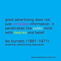 Tips on great advertising...