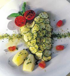 Ricetta Filetti di branzino con zucchine
