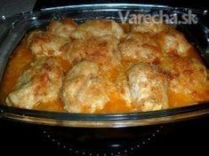 Zapečené kuracie prsia so syrom a cesnakom (fotorecept) 20 Min, 4 Ingredients, Poultry, Ham, Macaroni And Cheese, French Toast, Health Fitness, Food And Drink, Menu