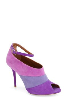 Malone Souliers 'Sheila' Ankle Strap Peep Toe Pump (Women) available at #Nordstrom
