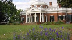 Monticello, Thomas Jefferson's Virginia estate.