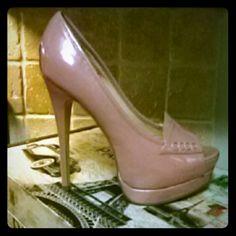 Shoes 5 inch pink pep toe Shoe dazzle Shoes
