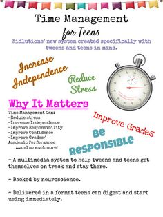 Help for teens who struggle with stress related to academics, responsibility…