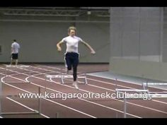 High Jump Drill's - Hurdle Jumps - YouTube