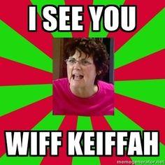 She seen you wiff him! Lol!