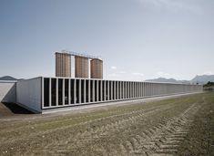 Marte.Marte Architekten, Marc Lins · Motorway Maintenance Centre