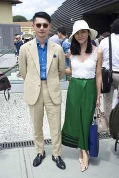 Zing Chen owner of The Firense China - best from Pitti Uomo 88 - Styleforum