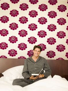 Image detail for -talking about using wall coverings with floral motifs we know that ...