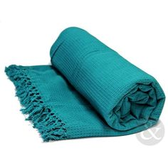 HONEYCOMB 100% Cotton THROWS Extra Large Luxury Thermal Throw Over... (28