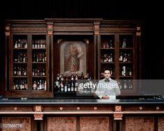 02-14 Portrait of a barman in front of an old world bar #bar... #bar: 02-14 Portrait of a barman in front of an old world bar #bar… #bar