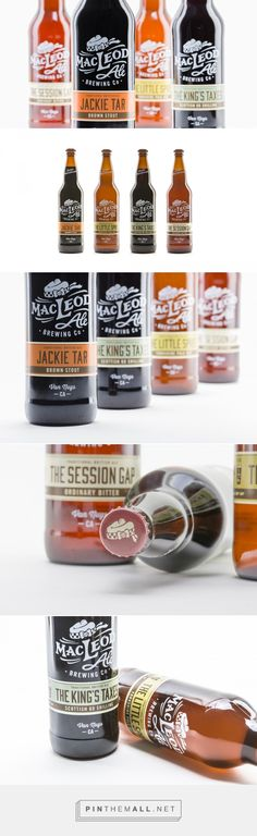 MacLeod Ale Brewing Co. — The Dieline - Branding & Packaging... - a grouped images picture - Pin Them All