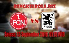Prediksi Nurnberg vs TSV 1860 Munchen 13 September 2016