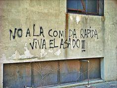 Cuanta verdad el graffiti