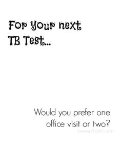 For your next TB test, choose the blood test instead. 1 visit instead of 2. Accurate. Reliable. Done. #TBBloodTest #IC #ad