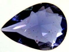 IOLITE NATURAL FACETED 0.45 CTS  TBG-1960  IOLITE   GEMSTONE FROM GEMROCKAUCTIONS.COM