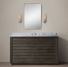Grand Shutter Single Extra-Wide Vanity