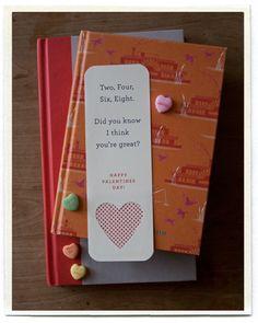 lovely little bookmark printables from inchmark