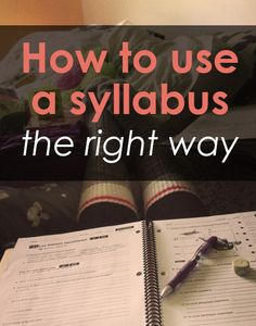 Are you using the syllabus the right way? Check out these 4 tips for putting your syllabus to good use in college. It could save you some trouble down the road!