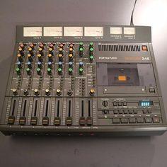 TEAC/Tascam Portastudio 246 analog 4 Track cassette recorder