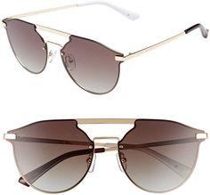 """fd5259e4a2 Amazon.com  PRIVÉ REVAUX ICON Collection """"The Parisian"""" Designer Polarized  Round Sunglasses"""