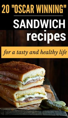 "20 ""Oscar Winning"" Sandwich Recipes For A Tasty And Healthy Life - ZoomZee - Image Credits: Recipetineats Sandwiches are good for any time of the day. Elaborate or simple, stuf - Sandwich Bar, Roast Beef Sandwich, Toast Sandwich, Soup And Sandwich, Sandwich Ideas, Club Sandwich Recipes, Panini Recipes, Sandwich Fillings, Grilled Sandwich"