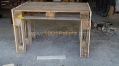 Pallet workbench | 1001 Pallets