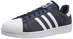 a38e0e67 adidas Originals Mens Superstar ConavyFtwwhtConavy 125 Medium US * **  AMAZON BEST BUY **