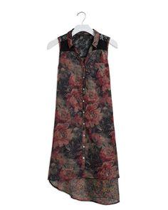 Ashford Dress in Mixed Textiles!
