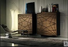 Wooden sideboard WEBBER By Cattelan Italia design Andrea Lucatello Contemporary Living Room Furniture, Contemporary Interior, Modern Furniture, Furniture Design, Italian Furniture Brands, Luxury Furniture, Coffee Table And Sideboard, Dining Table, Wooden Pattern