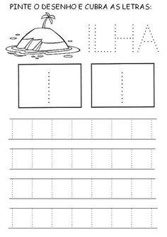 Preschool Kindergarten, Pre School, Activities For Kids, Alphabet, Homeschool, Writing, Education, Hinata, Mousse