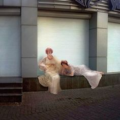People From Classic Paintings Inserted Into Modern City Life (Part 2) (Bored…