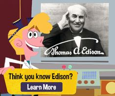 Edison Innovation Foundation supports the Thomas Edison legacy, including his inventions, business, quotes and family life. History For Kids, News Channels, Educational Videos, Family Life, Games To Play, Inventions, Lab, How To Apply, Science