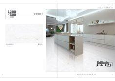 Millennium Tiles 600x1200mm (24x48) Digital Brilliante Recta PGVT Porcelain Floor Tiles Random Series.  - Zola Bianco