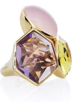 Ippolita | Rock Candy 18-karat gold ring | GORGEOUS