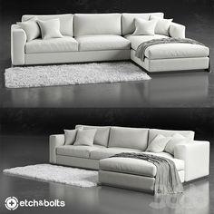Etch&Bolts Eudora L-Shaped Sofa                                                                                                                                                                                 More