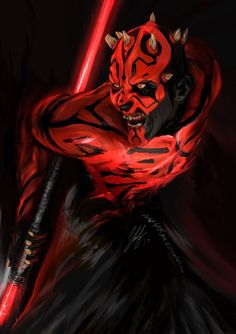Darth Maul no2. Star Wars by digitalArtistYork.deviantart.com on @DeviantArt