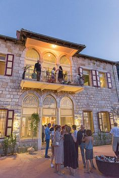 Beit Douma: Beirut's Home Away From Home - Douma, North Lebanon Architecture Drawings, Architecture Details, Old House Design, House Viewing, Beirut Lebanon, Castle House, Spanish House, Traditional House, Traditional Styles