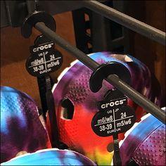 Crocs Branded Sandal Hangers Size-Stamped