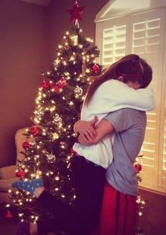 """((Open rp)) my best friend had come over for Christmas and had gotten me something that I've always wanted, a puppy. I stood up and hugged him. Then he said """"hey look mistletoe"""""""