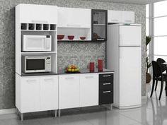 Cozinha Compacta Kits Paraná Vitória - Nicho para Forno 7 Portas com as melhores condições você encontra no Magazine Tonyroma. Confira!