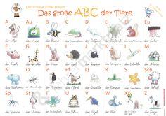 Das große ABC der Tiere - Seite 1