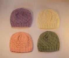Newborn Baby Hat 0-6 months Soft Baby Yarn in by heatherrainbow